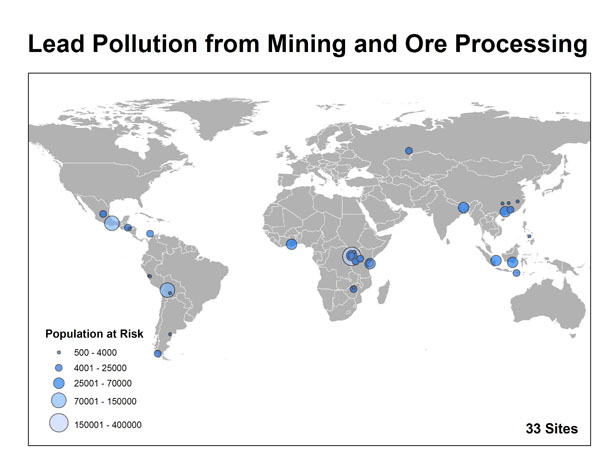 Lead Pollution from Mining and Ore Processing