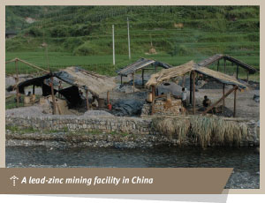 lead zinc mining facility in China